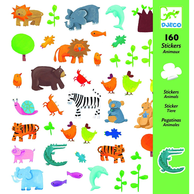 Animal stickers (160 stickers) 1