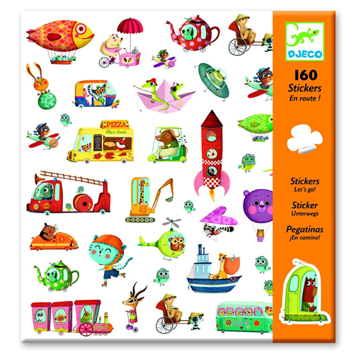 Let's go stickers (160 stickers) 1