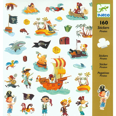 Pirate stickers (160 stickers) 1