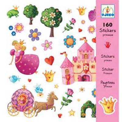 Princess stickers (160 stickers) 1
