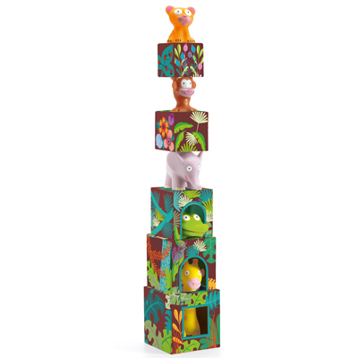Topanijungle block and Animal set 1
