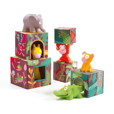 Topanijungle block and Animal set 2