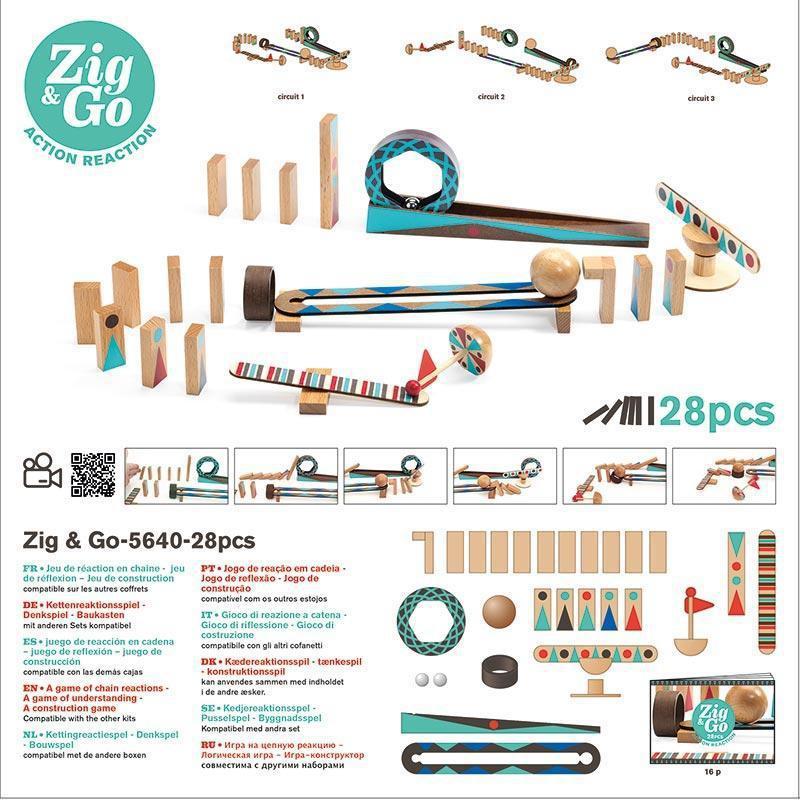 Zig and Go 28 piece set 2