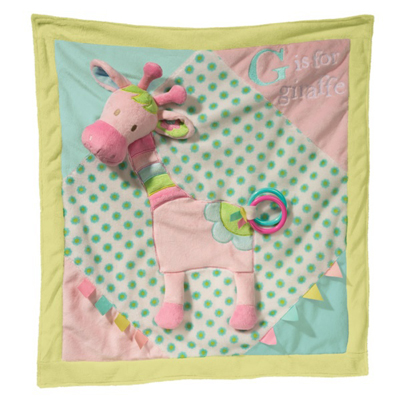 Playtivity Giraffe activity blanket 1