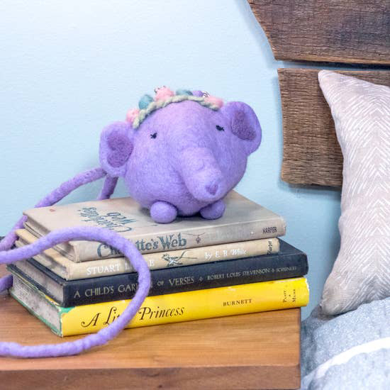 Emma Elephant Critter Purse 2