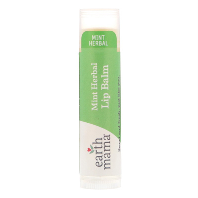 Earth Mama Lip Balms - Mint Herbal 1