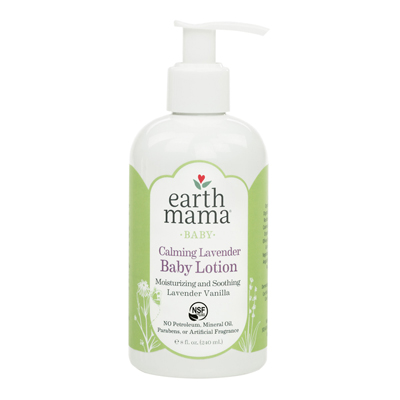 Calming Lavender Baby Lotion (8 oz) 1