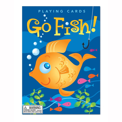Color Fish Go Fish playing cards 1