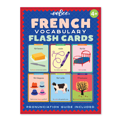 French Vocabulary Flash Cards 1