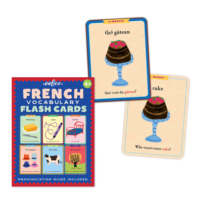 French Vocabulary Flash Cards 2