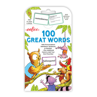 100 Great Words Cards 1