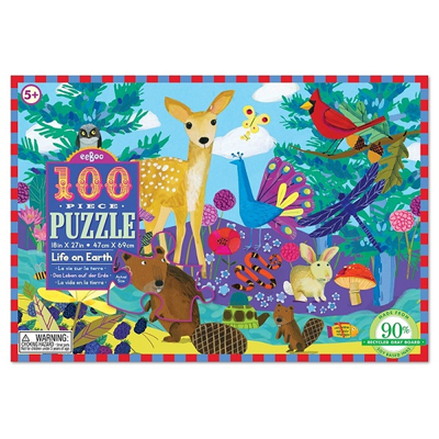 Life on Earth 100 Piece Puzzle 1