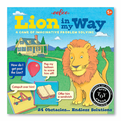 Lion in my way 1