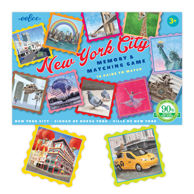 New York City matching game 1
