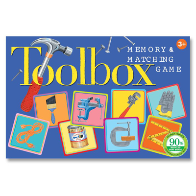 Toolbox memory and matching game 1