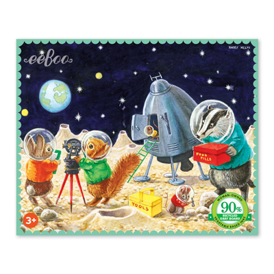 On the Moon 36 piece mini puzzle 1