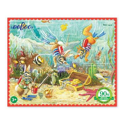 Finding Treasure 36 piece mini puzzle 1