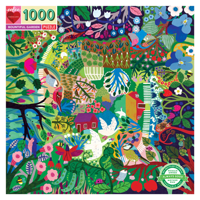 Bountiful Garden 1000 piece puzzle 1