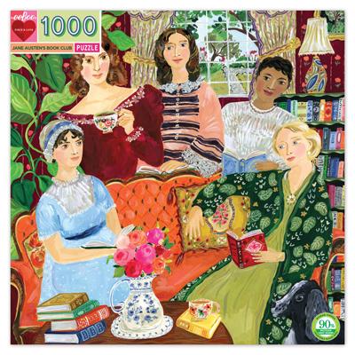 Jane Austen's Book Club 1000 piece puzzle 1