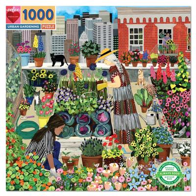 Urban Gardening 1000 Pc Sq Puzzle 1