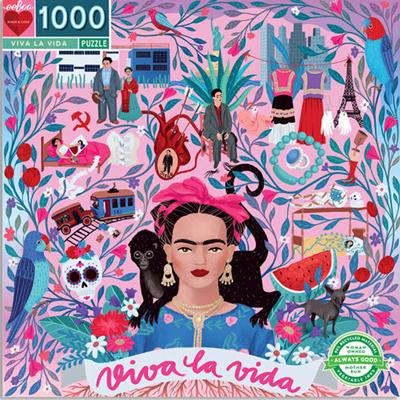 Viva la vida 1000 piece puzzle 1