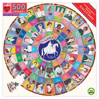 Votes for Women 500 pc Round Puzzle