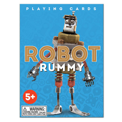 Robot Rummy card game 1