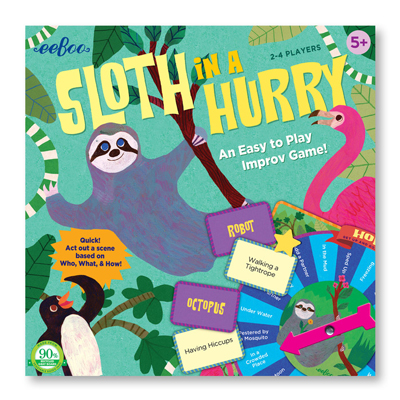 Sloth in a hurry game 1