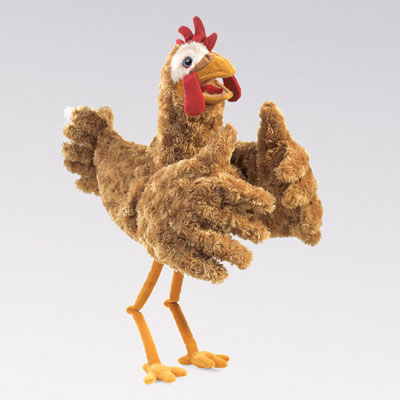 Chicken Puppet by Folkmanis 1