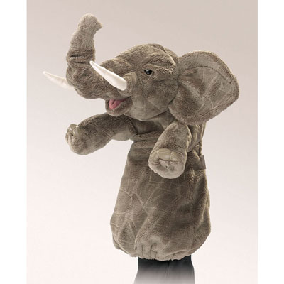 Elephant stage puppet by Folkmanis 1