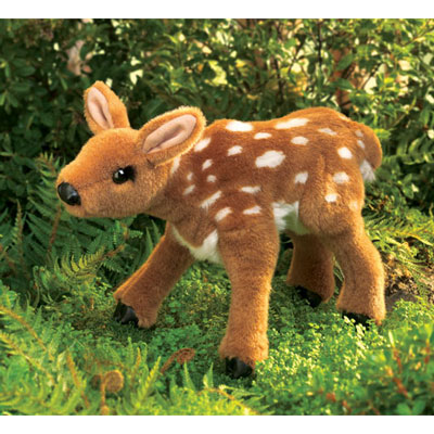 Fawn puppet by Folkmanis 1