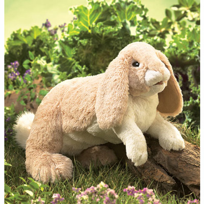 Floppy Bunny Rabbit puppet by Folkmanis 1