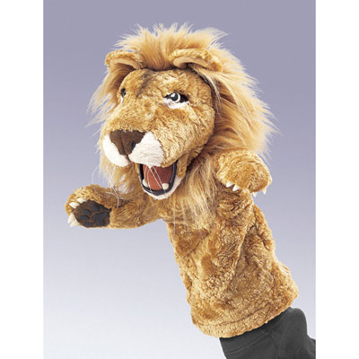 Lion stage puppet by Folkmanis 1
