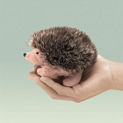 Mini Hedgehog puppet by Folkmanis 1