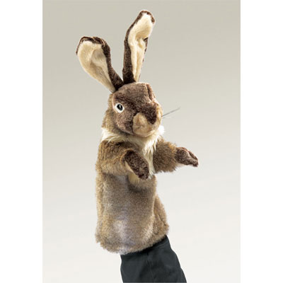 Rabbit stage puppet by Folkmanis 1