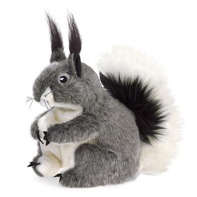 Albert's Squirrel Puppet 1