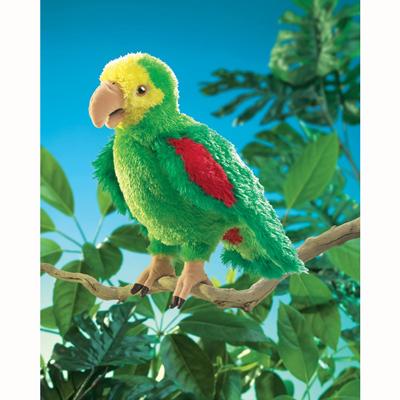 Amazon Parrot puppet 1