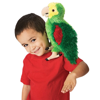 Amazon Parrot puppet 2