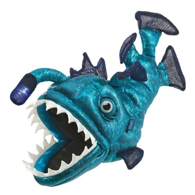 Anglerfish puppet 1