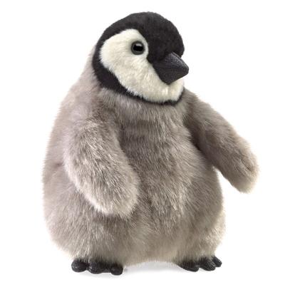 Baby Emperor Penguin puppet 1