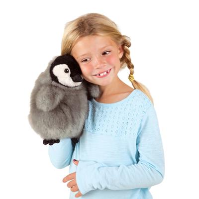 Baby Emperor Penguin puppet 2