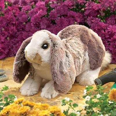Baby Lop Rabbit Puppet 1