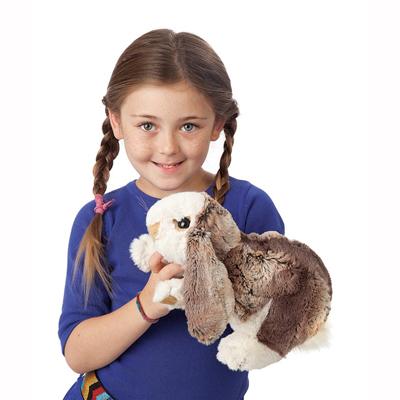 Baby Lop Rabbit Puppet 2