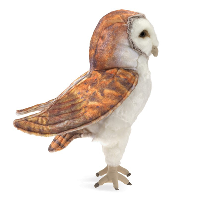 Barn Owl puppet 2