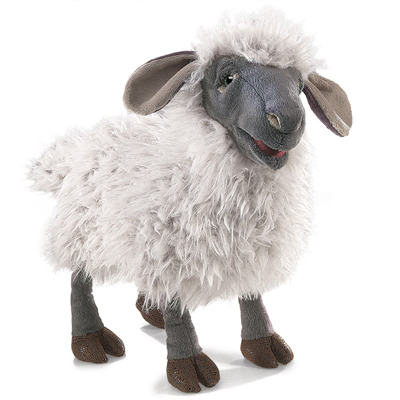Bleating Sheep puppet 1