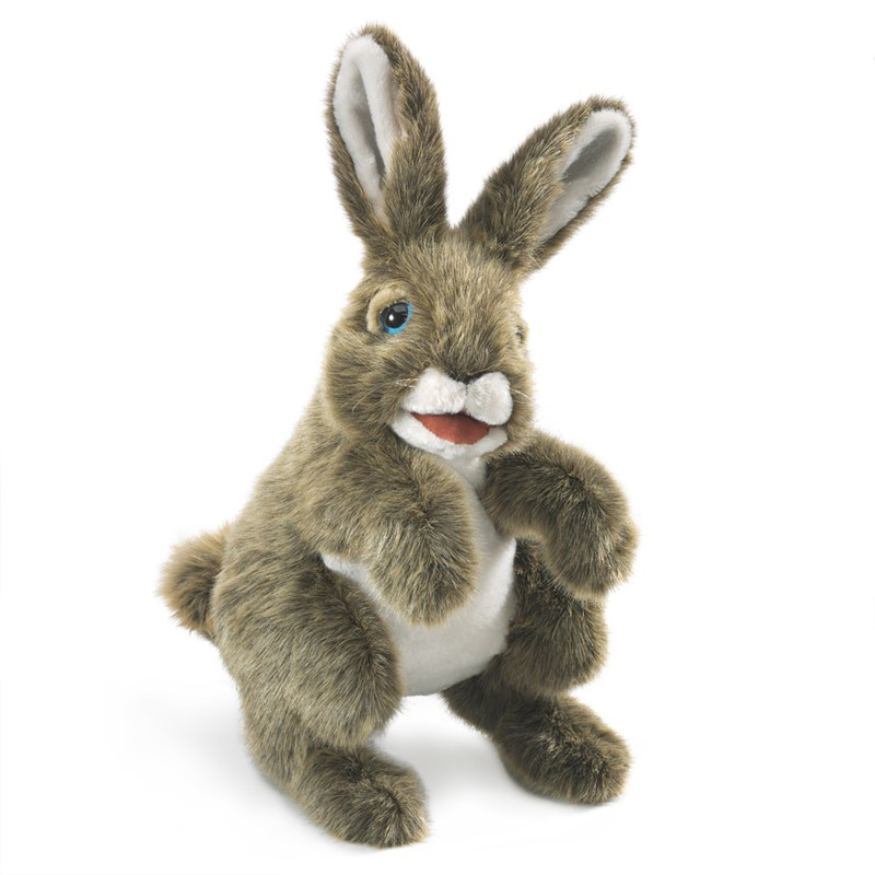 Hare puppet by Folkmanis 1