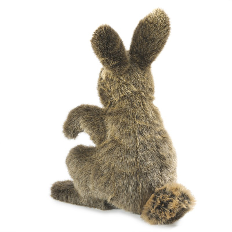 Hare puppet by Folkmanis 2