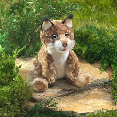 Bobcat Kitten Puppet 1