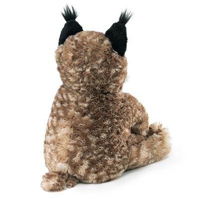 Bobcat Kitten Puppet 2