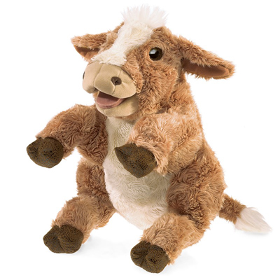 Brown Cow puppet 1